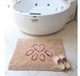 Высокая циновка настила полиэфира циновки ванной комнаты Microfiber циновки ванны кучи мягкая