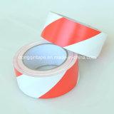 Fita de advertência Branco-Vermelha da marcação do PVC para a proteção elétrica (48mm*20Y)