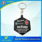 Zacht pvc Plastic Keychain van de Stijl van de Douane van de fabrikant Heet met Embleem (xf-kc-P02)