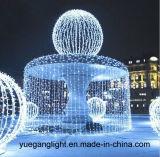 Maak 6*3m Licht van de LEIDENE 600LEDs Ijskegel van het Gordijn het Lichte waterdicht