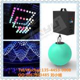 Software di Madrix della sfera di RGB DMX 512 LED della decorazione del partito di effetto di prezzi competitivi 3D