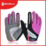 Die rutschfester querfeldeinunterhalt-warmen komprimierenden Handschuhe