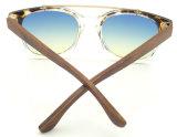 Fqpw161988 Kwaliteit Clubmaster Sunglass, de Zonnebril van de Tempel van het Bamboe, de Glazen van de Zon van de Vrouwen van de Manier