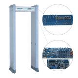 Caminata inteligente infrarroja de la seguridad del doble de la barra de la alarma del LED a través del detector de metales