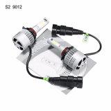 LED車のヘッドライトの自動車ヘッドライトS2 9012の穂軸8000lm 72W LEDのヘッドライト