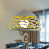 Heiße verkaufende moderner Leuchter-hängende Lampe mit Loch für Gaststätte