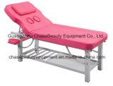 Tabela facial da massagem da tabela da base facial cor-de-rosa para o equipamento da beleza
