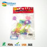 Faixa de borracha do brinquedo dos braceletes da faixa de borracha do silicone de DIY para meninas