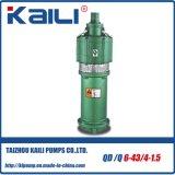 Bombas de água submersíveis elétricas multidimensionais QD & Q (com 3 impulsores)