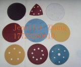 Disco de papel de lija de carburo de óxido de aluminio / carburo de silicio con diferentes tamaños