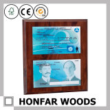 Het stevige Houten Frame van het Document van het Certificaat van de Omlijsting voor Bureau