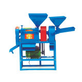 Máquina simples do moinho de arroz da operação