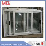 Recubrimiento en Polvo de aluminio de ventana deslizante