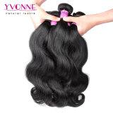 Weave peruano do cabelo humano do Virgin da onda do corpo