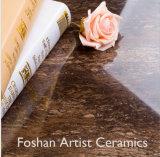 De antieke Stevige Bruine Opgepoetste Tegel van het Porselein van het Graniet