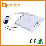 6W ultra-delgado de la plaza de la venta directa de empotrar placas de alta calidad LED