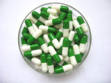 Capsula vuota dura della pillola delle perle di colore rosso di formato 1