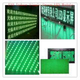 Modulo Singolo-Verde dell'interno di P10 LED