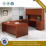 с столом офиса меламина офисной мебели книжных полок прочным (NS-NW175)