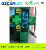 P10 P16 P20 P25 알루미늄 녹색 3D LED 약학 십자가 표시