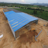 Economic Light stalk Structure prefab Warehouse in Thailand