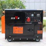 Generatore diesel silenzioso portatile 186fa 6kw di prezzi di fabbrica di inizio di tasto del bisonte (Cina) 6000W 6kVA per uso domestico