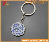 Époxy fait sur commande Keyholder de logo du cadeau de promotion de trousseau de clés (YB-HD-85)