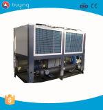Refrigerador refrescado aire del tornillo para la máquina de capa