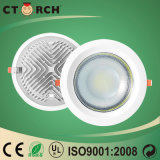 ESPIGA magro 10W do diodo emissor de luz Downlight do teto redondo de Ctorch 2017