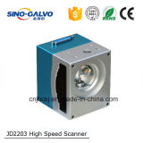 Balayage professionnel Jd2203 de Galvo avec l'ouverture de 10mm pour la machine d'inscription de laser