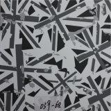 I vari reticoli hanno stampato il cuoio sintetico del sofà del PVC (HS039#)