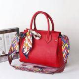 Sacs d'emballage véritables de sacs à main de femmes de sacs en cuir de courroie de Coroful de mode avec les écharpes Emg4939