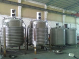réacteur de réservoir 1000L de mélange à mur unique avec le mélangeur à grande vitesse