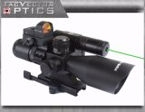Лазер Riflescope оптики 2.5-10X40 вектора зеленый с миниым красным объемом Ar15 МНОГОТОЧИЯ