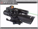 Vector Optics 2.5-10X40 Láser Riflescope Verde con Mini DOT Rojo Alcance Ar15