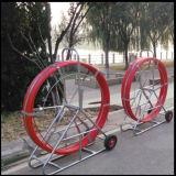 Conduit étendant le serpent de fibre de Rodder de câble de fibre de verre 12mm*300m