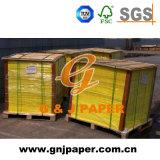 Documento di derivazione di colore giallo di alta qualità in imballaggio del pallet