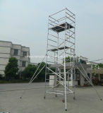 Tour en aluminium approuvée d'échafaudage de la CE pour la décoration