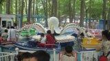 Equipo grande del parque de atracciones del pulpo de 2016 paseos al aire libre del patio para los niños