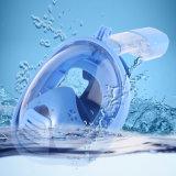 Volles Gesichts-schnorchelndes Schablonen-Unterwasseratemgerät Watersport Unterwassertauchens-Gerät