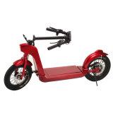 Smartek intelligente Form faltendes E-Fahrrad 14 Zoll-Rad-Größe mit dem LED-Licht, das intelligenten elektrischen Roller Patinete Electrico S-005-2 steht