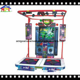 4명의 사람들 비디오 게임 아케이드 오락 동전에 의하여 운영하는 게임 기계