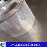 Сетка ячеистой сети 20 фильтра Inconel к сетке 600