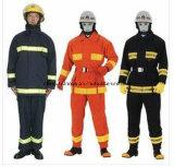 De vuurvaste Kleding van de Vertrager van de Brandbestrijding Workwear met Goede Kwaliteit Weerspiegelende Vuurvaste Workwear
