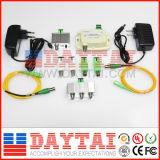 3 Way FTTH Optical Node Converter Fibra óptica Receptor