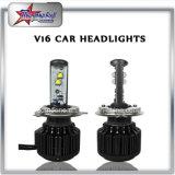 車のオートバイ80W極度の明るいH4 H13のハイ・ロービームLEDヘッドライト9007 9004のための優秀な品質Xhp70 LEDのヘッドライト
