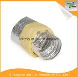 Mangueira desencapada de alumínio ventilada e de Exhuasting da fibra de vidro