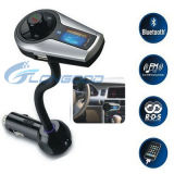 Jugador de MP3 sin manos audio del transmisor del kit FM del coche MP3 de Bluetooth