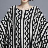 Pullover della frangia di inverno lavorato a maglia nylon del cotone di modo delle donne (YKY2054)