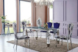 De moderne Goedkope Eettafel van het Metaal voor het Dineren van de Verkoop Reeks